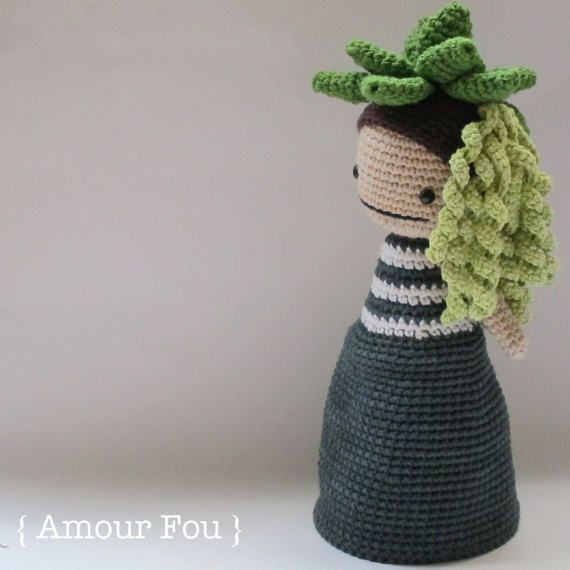 Flora, The Succulent - Crochet Pattern by {Amour Fou}   Pinterest ...