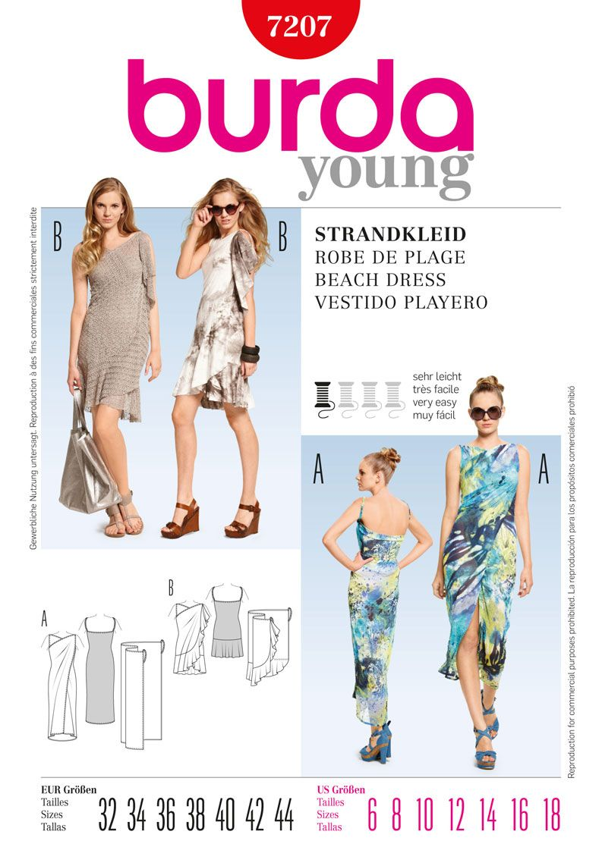 Simplicity Creative Group - Burda Style Beach Dress | ✄ Sewing ...