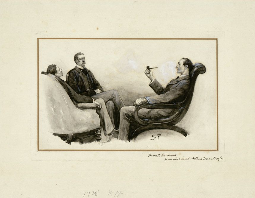 Explore The Ransom Centers Extensive Collection Of Vintage Sherlockania Including Original Manuscripts And Arthur Conan Doyles Personal Effects