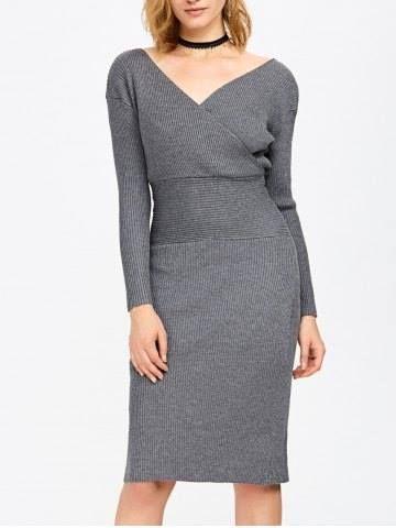 Vestidos con tela tipo sueter (20)  427dfd3311b