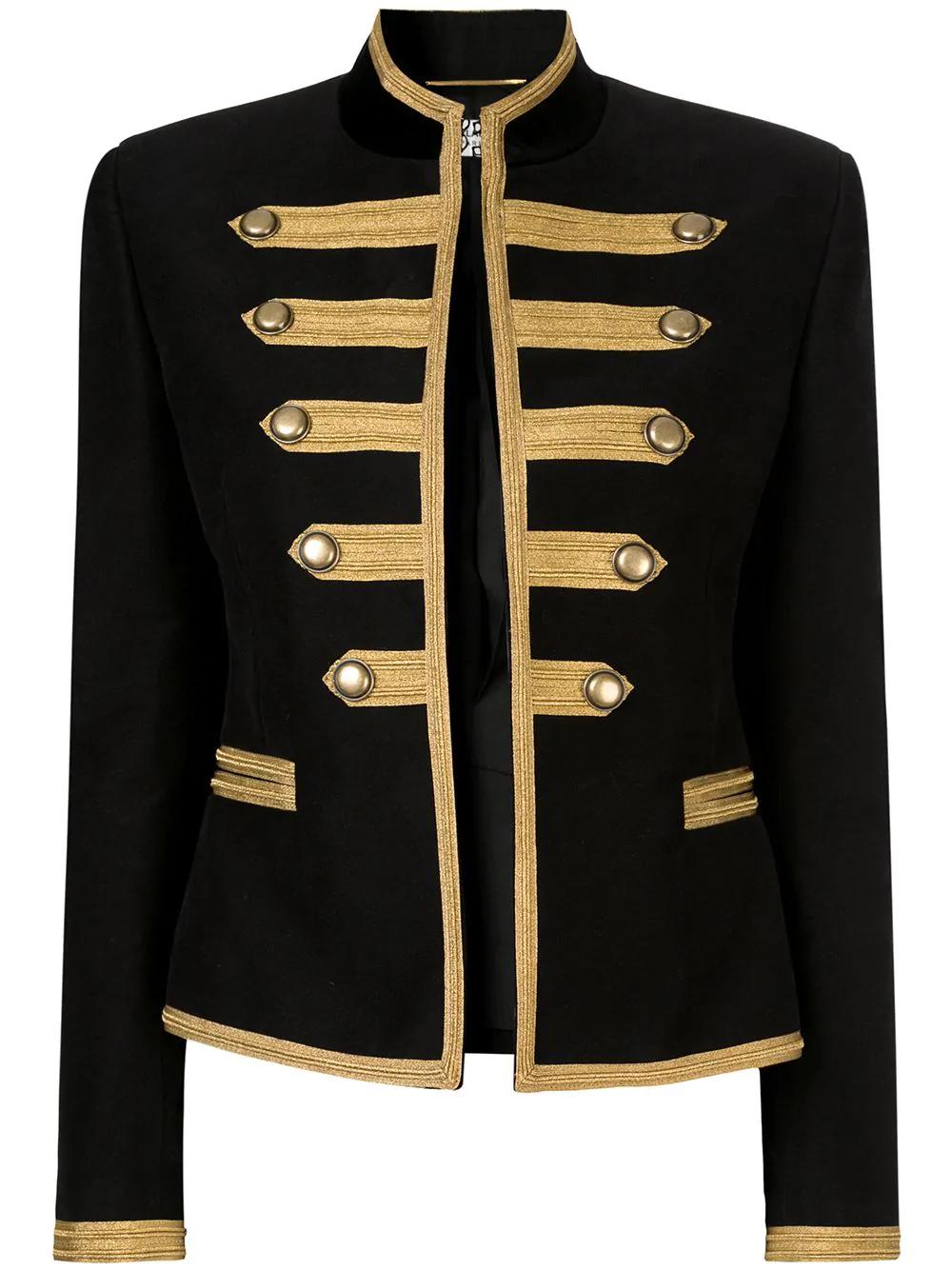 Saint Laurent Military Jacket Black Military Style Jacket Womens Military Jacket Women Military Jacket Outfits [ 1334 x 1000 Pixel ]