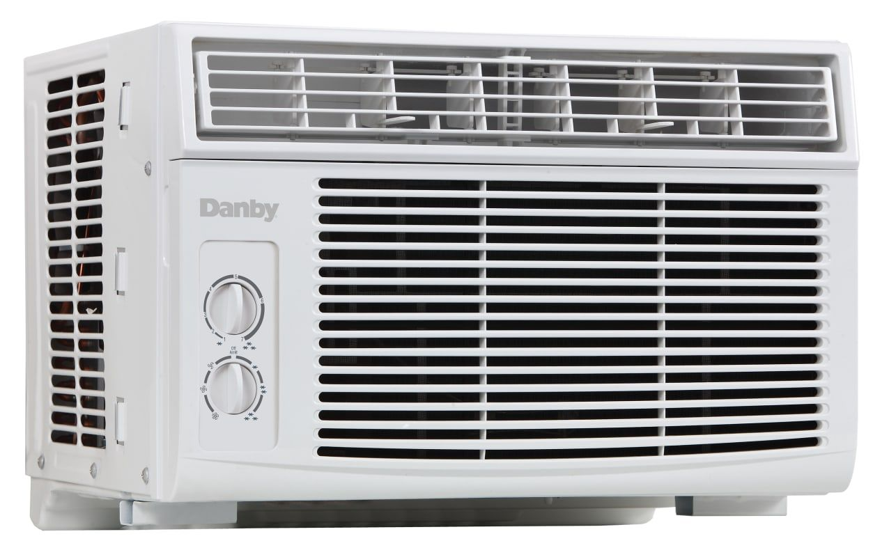 Danby Dac080bau 8000 Btu 120 Volt Window Air Conditioner White Air Conditioners Air Conditioner Cool Only Window Air Conditioner Air Conditioner Conditioner