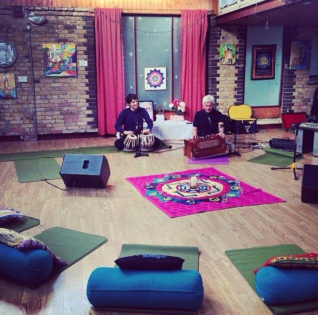 specialyoga.org.uk |  Getting ready for Kirtan! #yoga #specialyoga #kirtan
