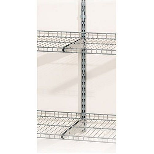 Rubbermaid 5g72 Fasttrack 25 Inch Upright With Extension By Rubbermaid 8 97 Easy Installation With Included Connect Shelving Rubbermaid Wall Mounted Shelves