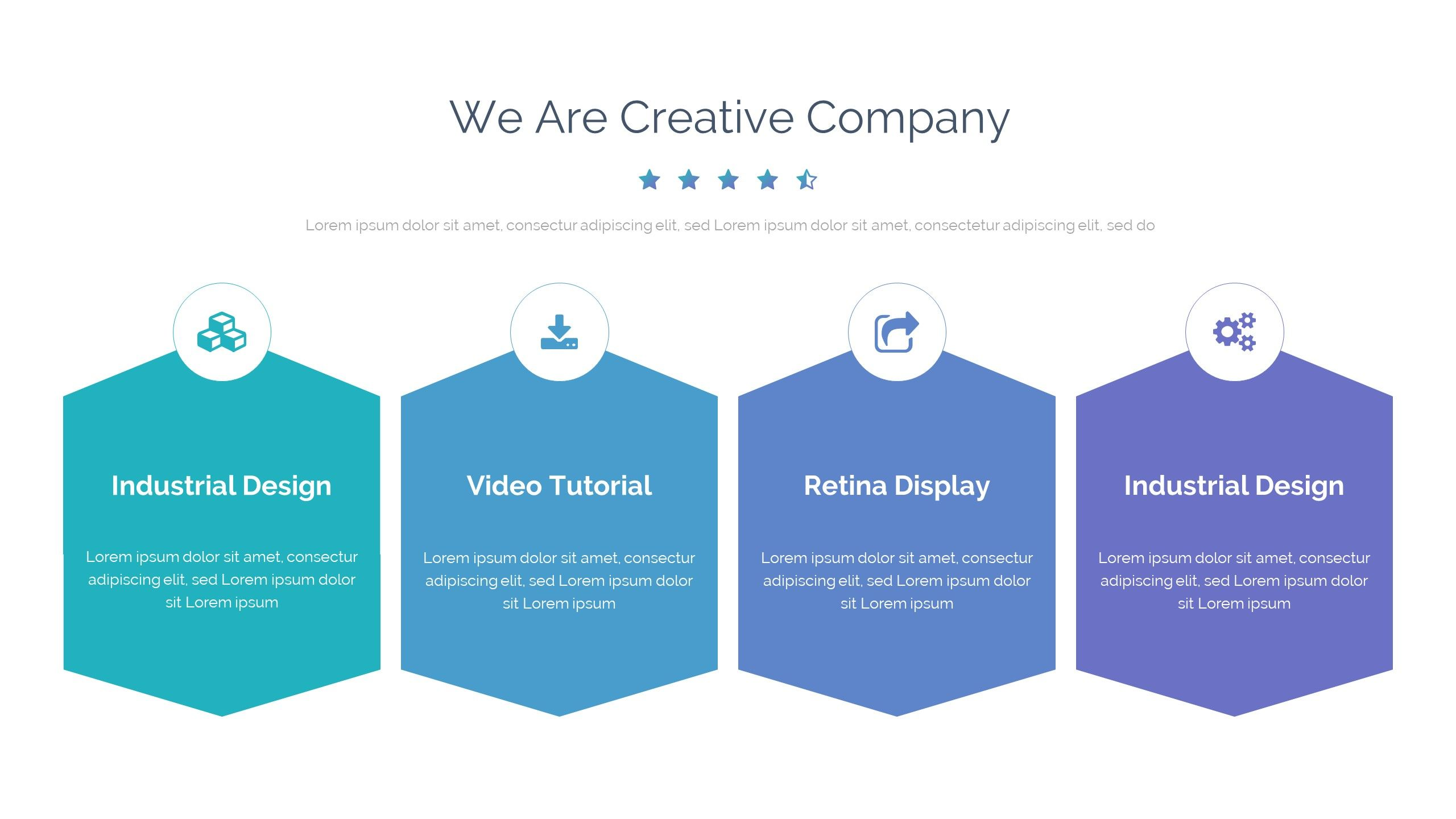 Case Study Pitch Deck Powerpoint Template With Images Business