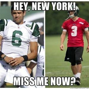 Hey New York Miss Me Now Mark Sanchez Meme Sports Memes Mark Sanchez Memes