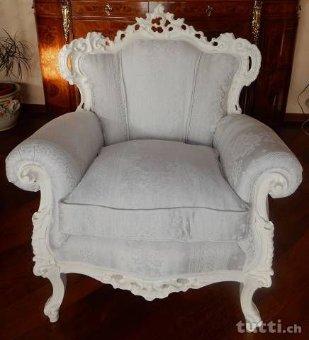 Poltrona in stile Barocco - Baroque Style Chair - Poltrona in stile ...