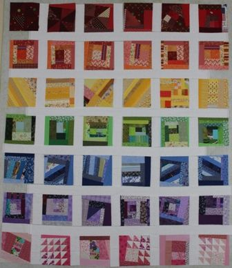 crumb blocks quilts rainbow