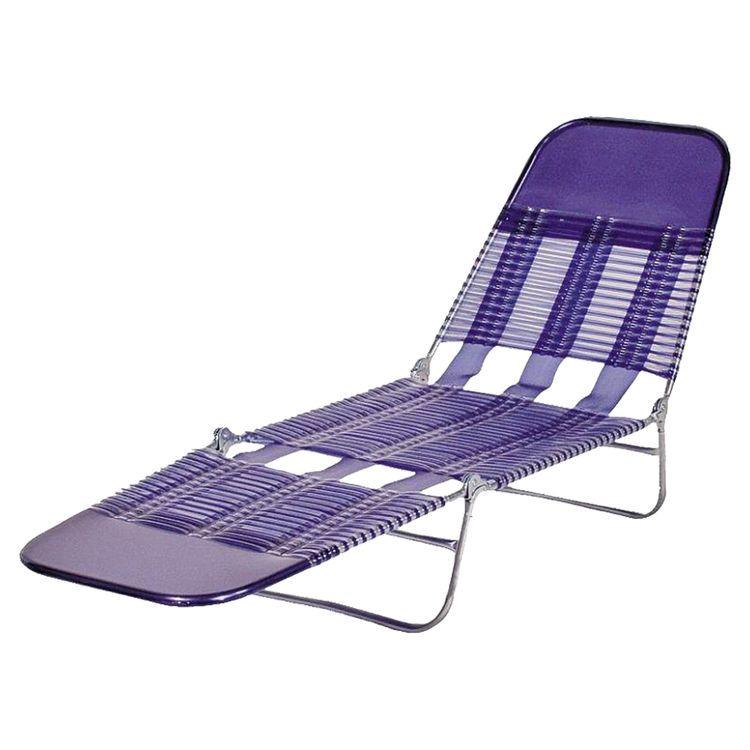 Worldwide Sourcing S65002 B Folding Chaise Lounge 22 78 In H X 15 1 4 In W X 26 In D Pvc Royal Blue Folding Lounge Chair Lounge Chair Outdoor Outdoor Chairs