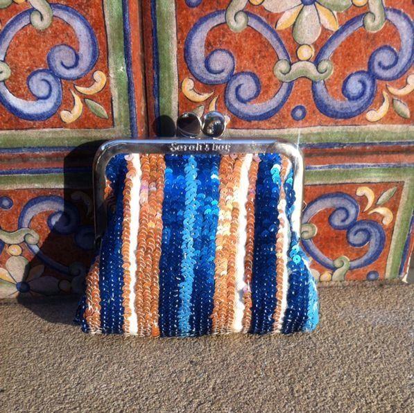 """Somewhere in Spain"" Sarah's Bag Mini Clutch"
