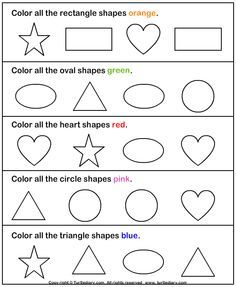 Identifying Shapes Worksheets Kindergarten - 3d shapes worksheet ...