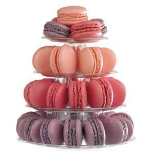 10 Tier Macaron Display Stand For French Macarons Con Imagenes Macarons Galletas Francesas Unas Francesas