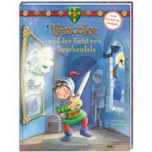 Vincelot und der Geist von Drachenfels. Spuk auf Burg Drachenfels!Nacht für Nacht treibt ein schauriger Geist sein Unwesen in den Gängen der Burg. Vincelot und sein magisches Schwert Jaber nehmen all ihren Mut zusammen, um das Gespenst zu fangen. Und dann steht er plötzlich vor ihnen: der kopflose Diego von Drachenfels, Paulas Urgroßonkel …