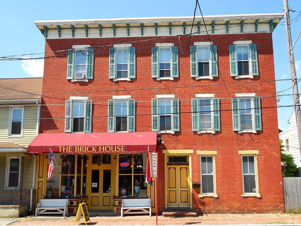 Manheim Borough Historic District in Lancaster County, Pennsylvania.