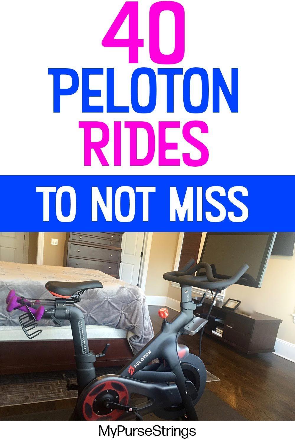 How To Find The Best Peloton Rides Fun Themed Fan Favorites Peloton Peloton Bike Riding