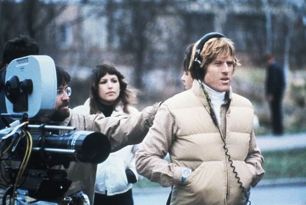 * Robert Redford * …as director on the set of 'Ordinary People' (1980) ~ 'This project had so little going for it, in terms of the token commercial aspects. No car chases, no sex, no violence - although it's an emotionally violent piece. But I wanted to direct it, because for me it's a step forward, it's a step out there.' ~ re-post from www.facebook.com/therobertredfordpost ~