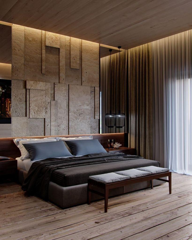 40 Simple Modern Bedroom Decoration For Big Space Modern Bedroom