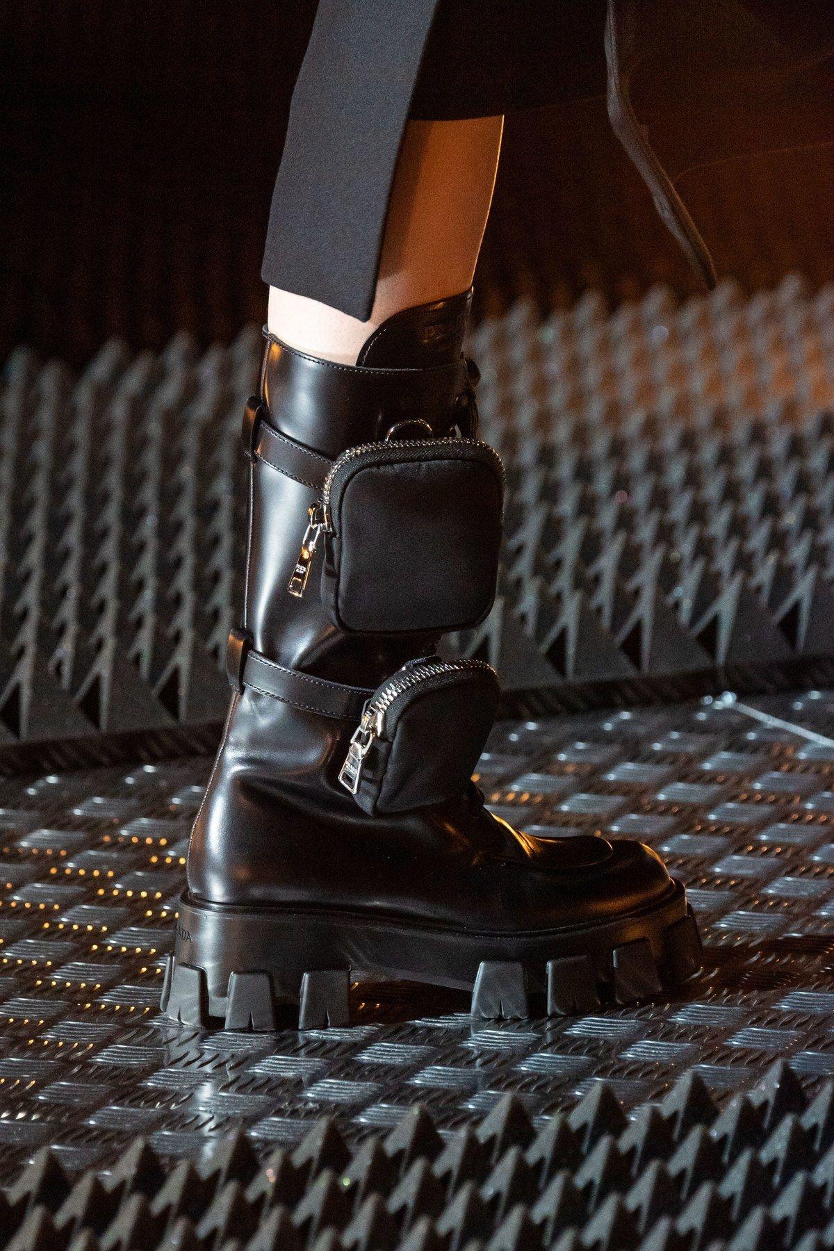 Vogue Germany | Boots, Prada