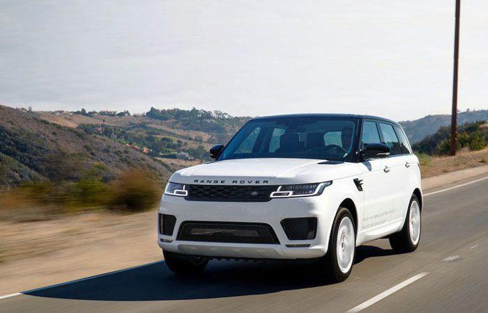 Pure Electric Car 2019 Land Rover Range P400e Upgrades