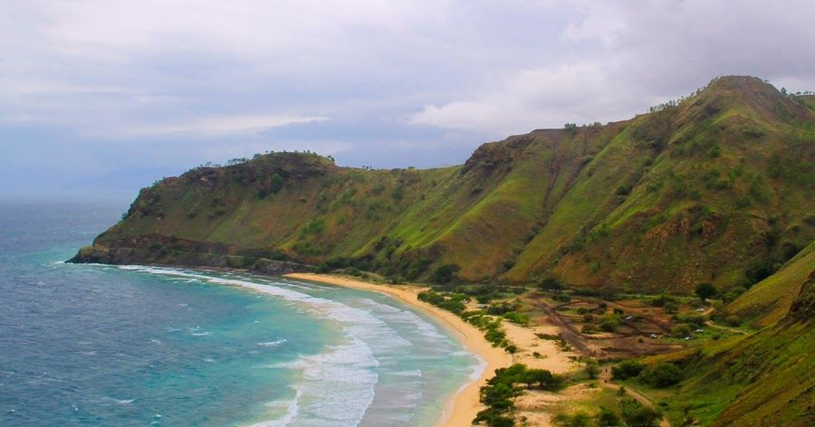Dolok-Oan Beach, Pantai Berpasir Putih di Timor Leste