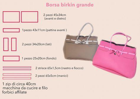 12c67c31c7 cartamodello per borsa in feltro - Cerca con Google | Tutorials ...