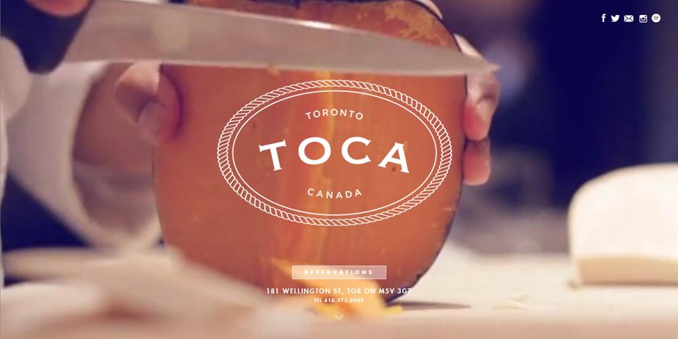 Image result for TOCA restaurant website