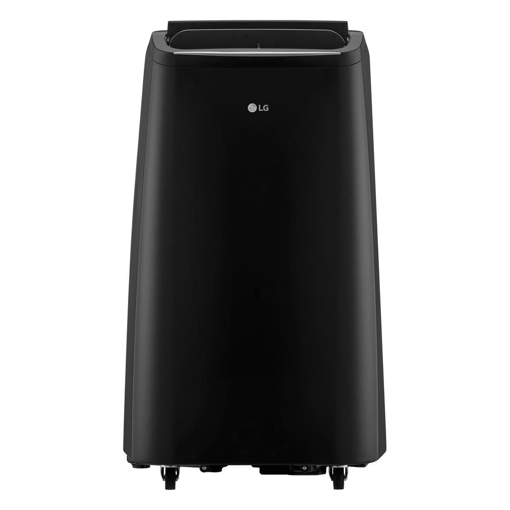 Lg Electronics 12 000 Btu 7 500 Btu Doe 115 Volt Portable Ac W Dehumidifier Function And Lcd Remote In Graphite Lp1218gxr With Images Portable Air Conditioner Dehumidifiers Portable Ac