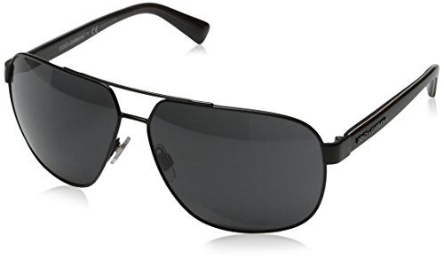 a95628a6b313 DG Dolce Gabbana Mens Urban Aviator Sunglasses Black Grey 63 mm    Learn  more by visiting the image link.Note It is affiliate link to Amazon.