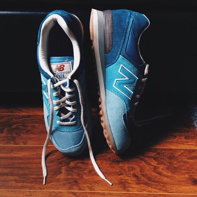 Next up on #ShoeLover Day, our good friend @theobaban shows you his favorite pair of 574s. He loves them so much, he says they're too pretty to wear.  Snap a pic with your favorite New Balances and tag it #NBLove. We will celebrate the best all day today. #DSW