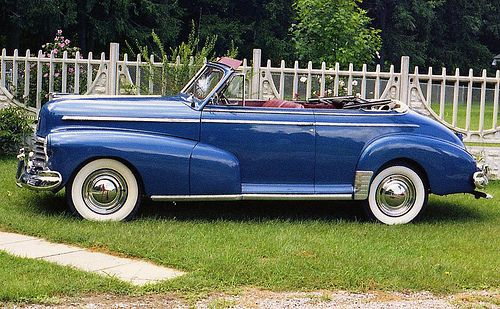 1946 Chevrolet Fleetmaster Convertible Vintage Cars Chevrolet
