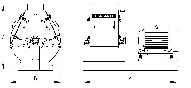 feed hammer mill design/feed hammer mill price/feed mill