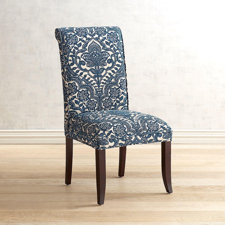 Pleasant Angela Navy Blue Trellis Dining Chair In 2019 Dining Inzonedesignstudio Interior Chair Design Inzonedesignstudiocom