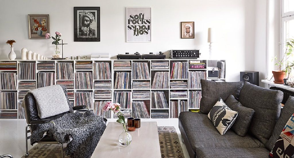 How To Store Your Music Collection - Gravity Home