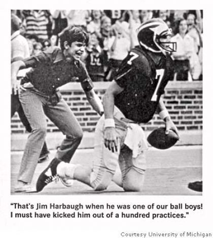 Image result for ricky leach jim harbaugh
