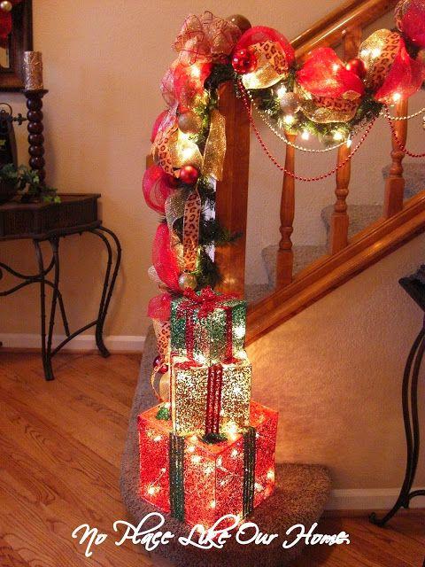Walgreens Christmas Lights.No Place Like Our Home Christmas Foyer 2012 Lighted