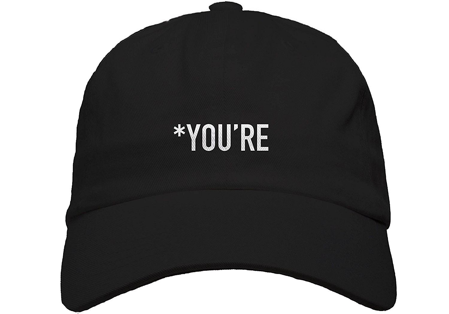 abc1ad0de91 You re Embroidered Baseball Dad Hat Strapback - CY18752HR66 - Hats   Caps