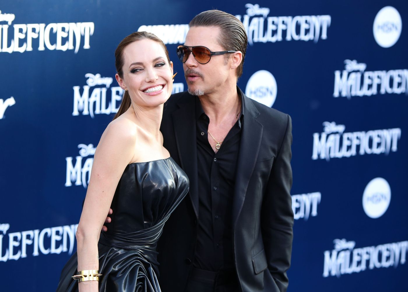 On Aug. 23, two years after getting engaged, Brad Pitt and Angelina Jolie wed in a secret ceremony in the chapel of Château Miraval, the couple's estate in Correns, France. Jolie wore a gown decorated with artwork from her six kids and was escorted down the aisle by oldest sons Maddox and Pax. Also playing their parts, Zahara and Vivienne were flower girls and Shiloh and Knox were ring bearers.