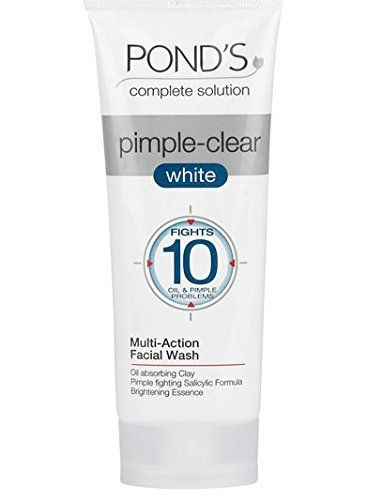 Ponds Pimple Clear White Multi Action Facewash And Scrub 100g This Is An Amazon Affiliate Link To View Further Fo Face Wash Best Face Wash Acne Face Wash
