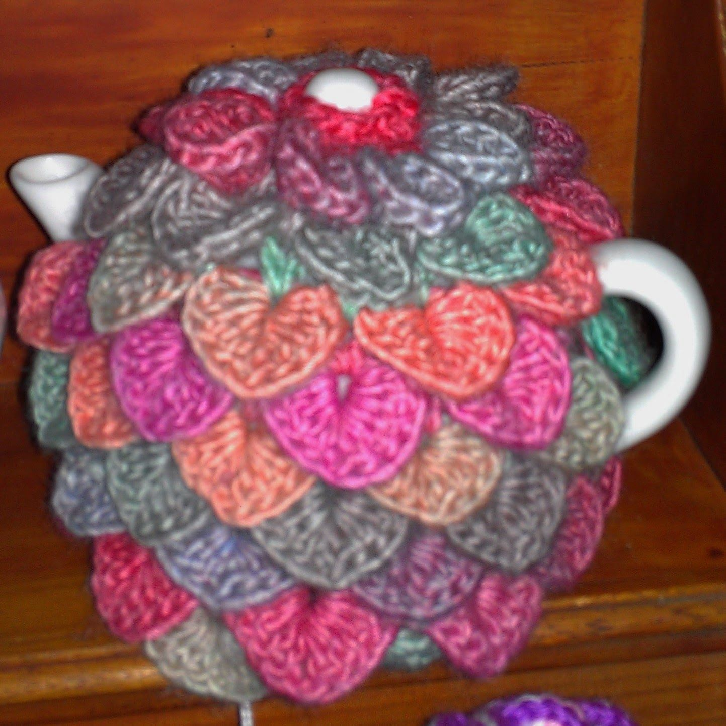 Craft a cure for cancer free tea cosy pattern | Crochet Home ...