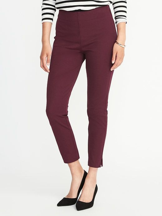 640774365da Old Navy High-Rise Pixie Side-Zip Pants for Women