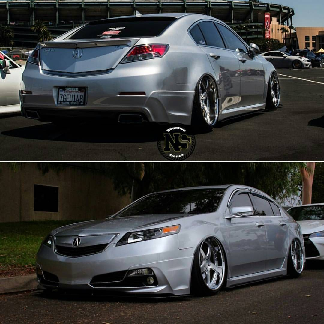 Acura TL Lowered On 20 Inch Vossen VFS1 Wheels Need A Ride