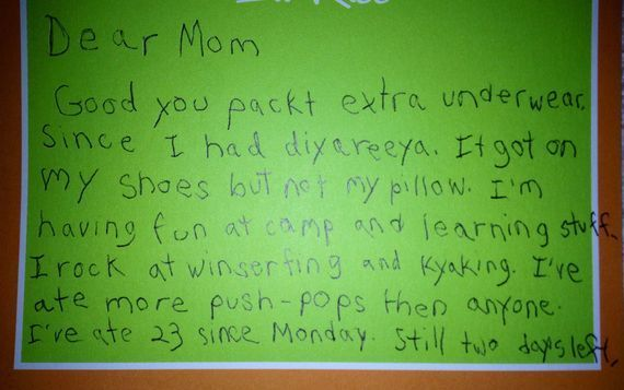 This Mom Sent Her Son To Summer Camp And Received An Unexpected