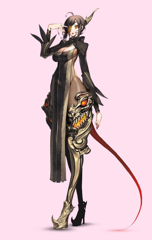 ArtStation Blade & Soul MMORPG Concept art, HICHI / An