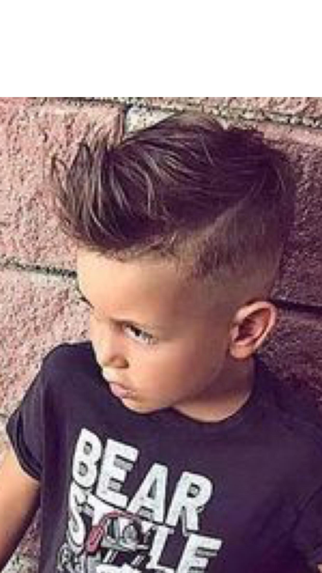 Pin By Alaina Burr On Hair Styles Boy Hairstyles Boys Haircuts Little Boy Hairstyles