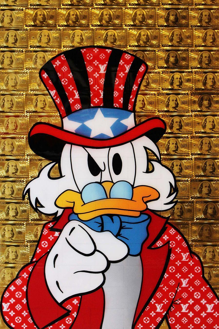 Scrooge Mcduck Art