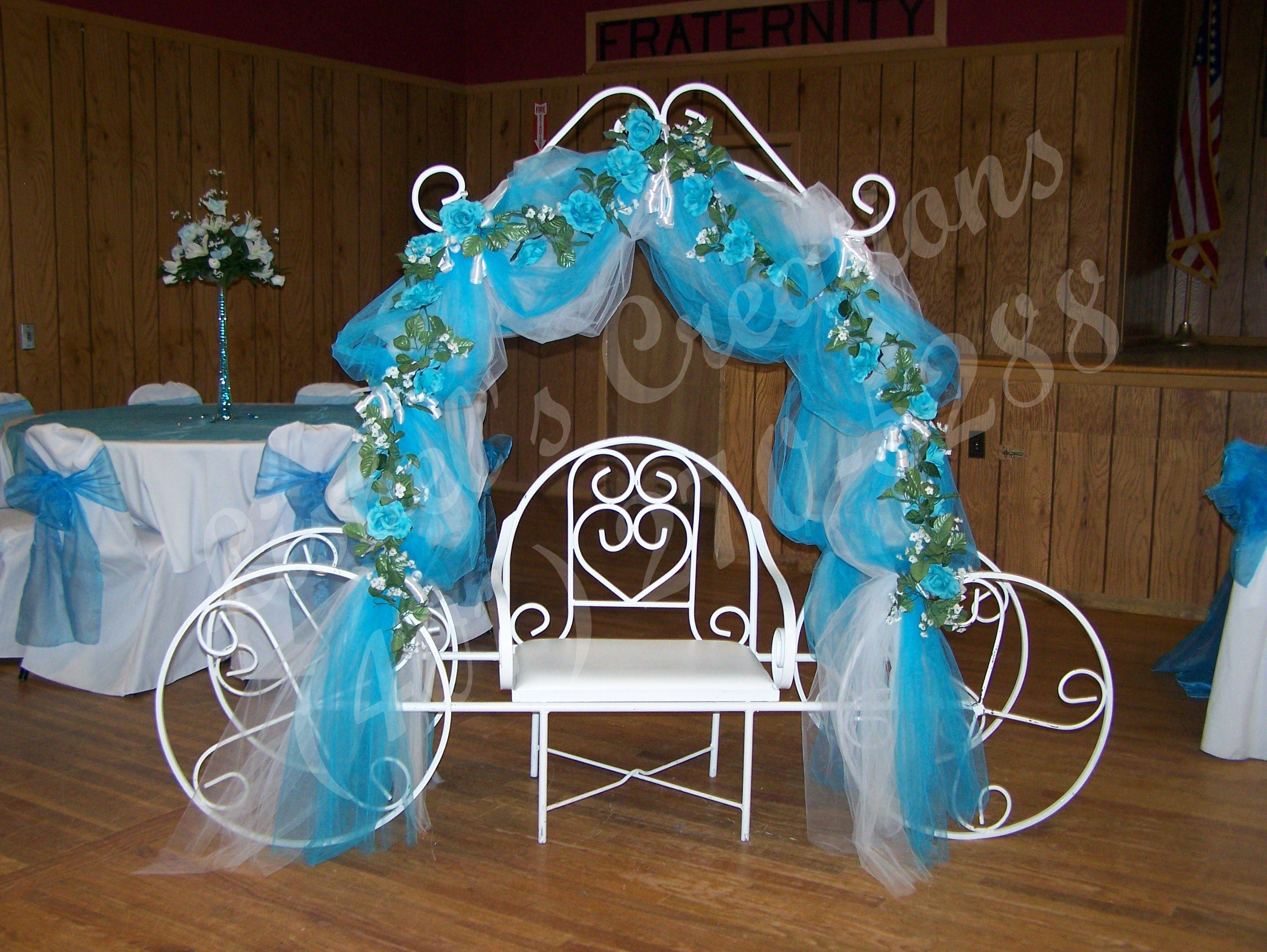 Mis quince salon decorations decoracion de quinceanera - Decoracion de salon ...