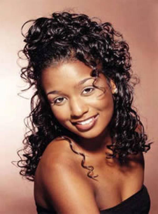 Nice Black Hairstyles   Curly Weave Hairstyles For Black Women 2013