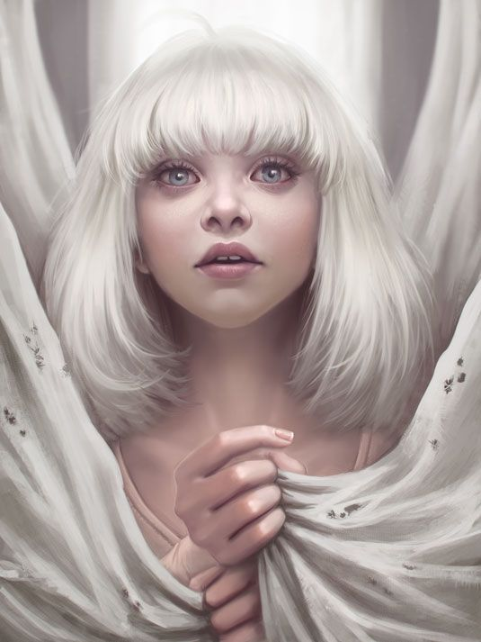 11 digital artists you need to know about pinterest maddie ayyas maddie ziegler sia chandelier based on a dancing girl in the video of sia chandelier i immediately decided that i should paint her portrait aloadofball Images