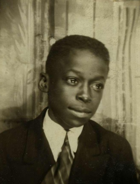 Young MILES DAVIS, mid-30's...
