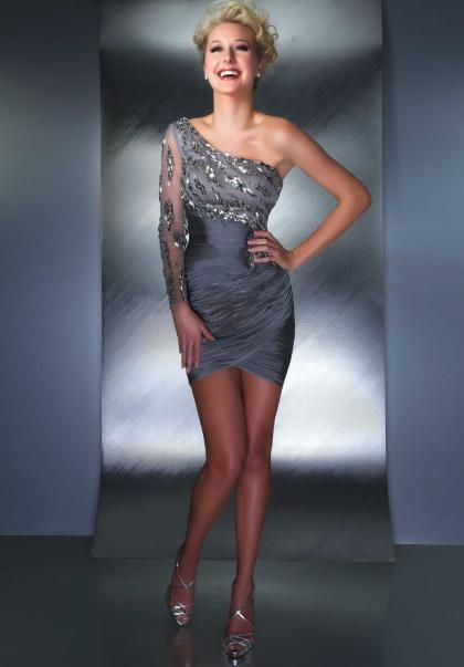 MacDuggal Cocktail Dress 61139D at Peaches Boutique